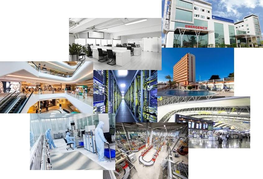 شرکت ساتر - اتوماسیون مجتمع های تجاری ، اداری و برج های مسکونی BMS