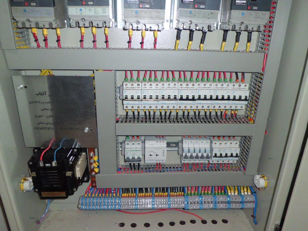 نصب تابلو برق - تابلو صنعت مکران